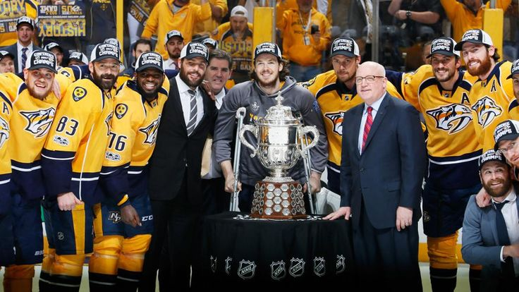 Preds Win Western Conference, Clinch Berth in Stanley Cup Final