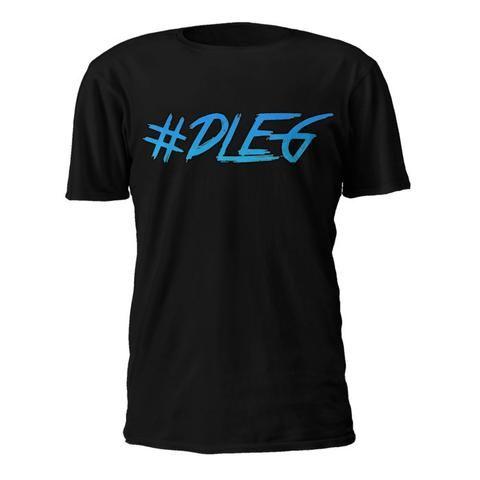 T-skjorte: #DLEG [BLACK EDITION]