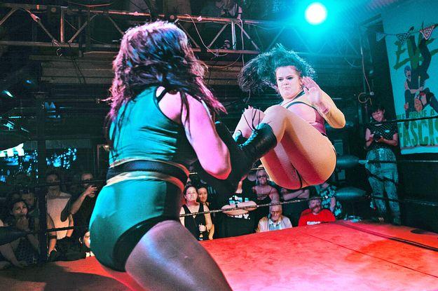Meet The Loud Fearless And Feminist Women Of London's Women's Wrestling Scene