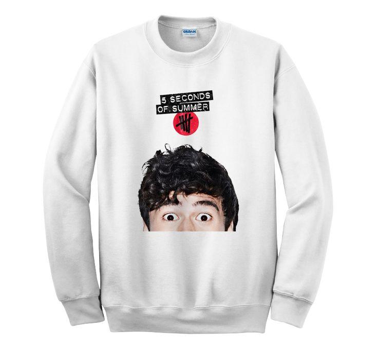 5SOS Calum Hood Head 5 Seconds Of Summer – Sweater