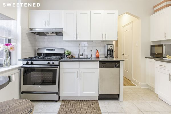 Before and After: Nikkia and Daniel's Ditmas Park Kitchen and Closets — Sweetened!