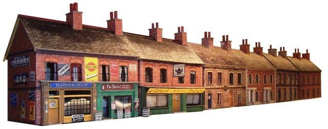 Just completed a new range of OO Gauge model railway terraced houses and shops that can be viewed at www.3dk.ca