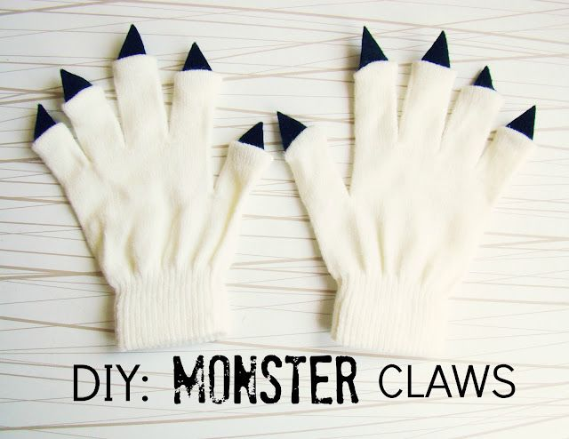 DIY Monster Claws!: Idea, Diy'S, Halloween Costumes, Monsters, Monsterclaws, Kid, Crafts