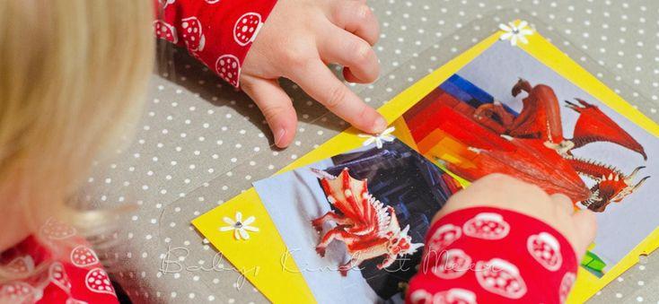Kinder lieben Fühlbücher. Allerdings findet man in Bücherläden fast ausschließlich Fühlbücher für Babys und Kleinkinder. Nur mit etwas Glück stößt man mal auf ein Fühlbuch für Größere. Und damit meine ich keine Pop-up- oder Klappen-Bücher. Nein, ich meine richtige Fühlbücher. Vor etwa einem Jahr hat Lilli ein großes Drachenbuch