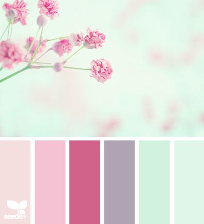A bit different than what you've mentioned but how beautiful is this?! Imagine huge centerpieces will of these colors?!