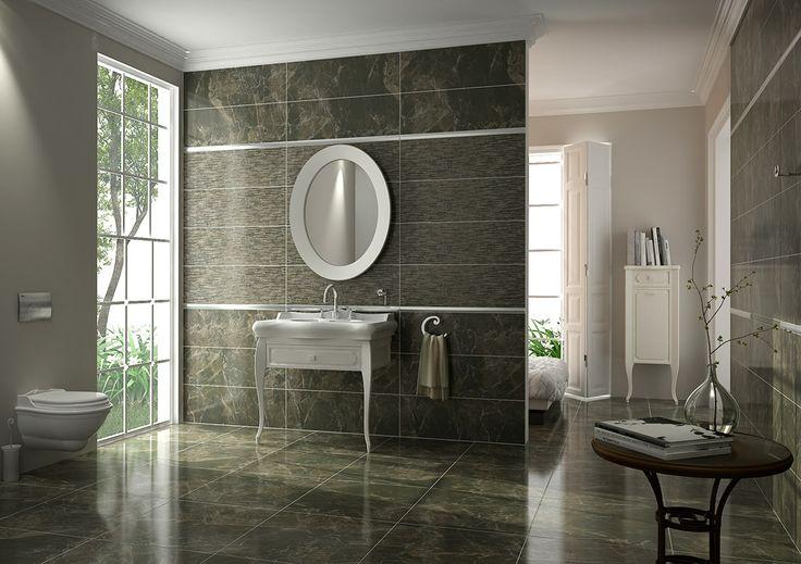 Marmoles brillo mocha perla bathroom ideas pinterest for Mocha bathroom ideas