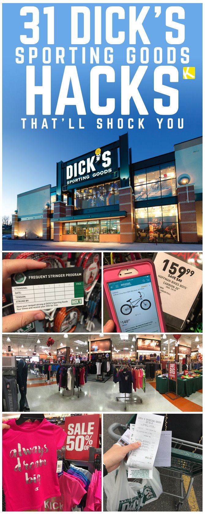 31 DICK'S Sporting Goods Hacks That'll Shock You - The Krazy Coupon Lady
