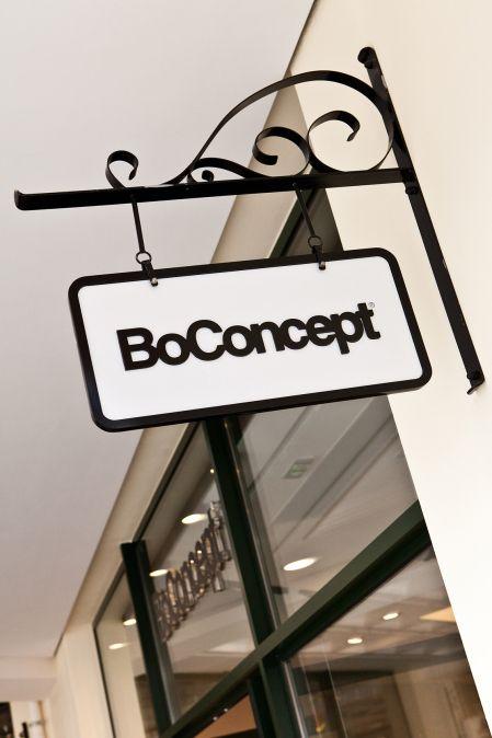 BoConcept Store sign