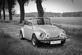 Oldtimer,VW-Käfer, Cabrio