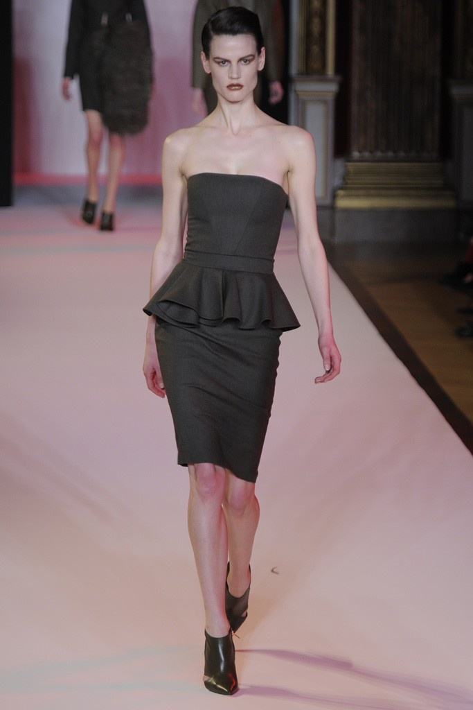 Hakaan RTW Fall 2012: Style Peplumfashion, Chic Style, Peplum Style, Style Fashion, Design Style