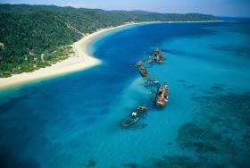 Tangalooma Wrecks, Moreton Island, Brisbane, QLD