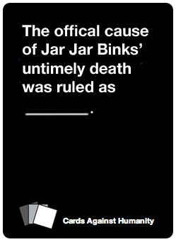 35 Nerdy Cards Against Humanity Cards To Add To Your Deck- These are SO wonderful!!