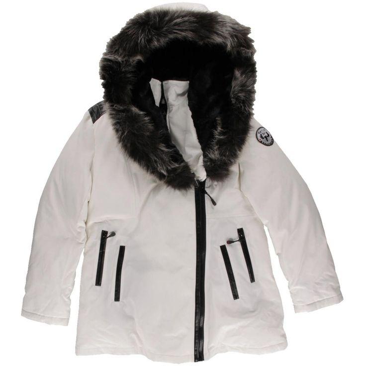 Arctic Expedition Womens Down Faux Fur Parka