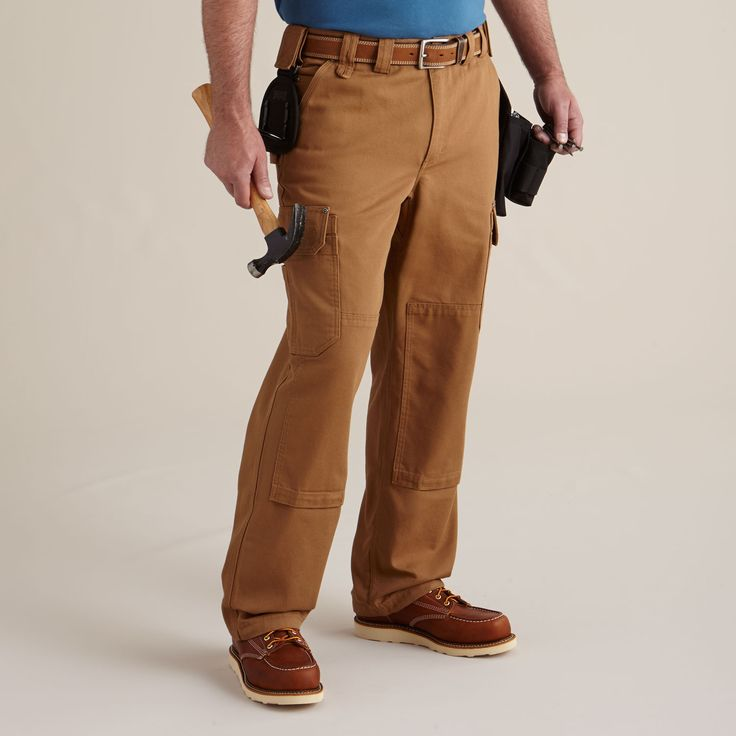 Men's Ultimate Fire Hose Cargo Work Pants - Duluth Trading