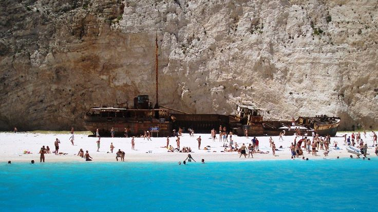 Navagio Bay Tourist