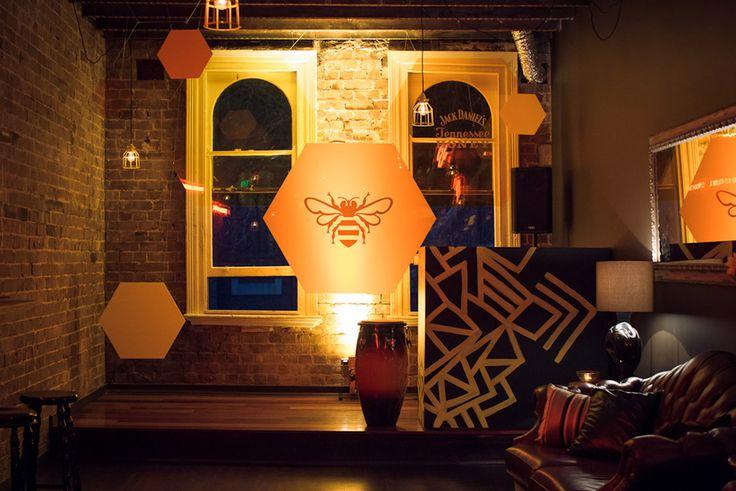 Jack Daniel's Tennessee Honey Pop-Up Bar « AZBcreative AZBcreative