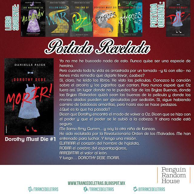 """""""¡Dorothy Debe Morir!"""" (Dorothy Must Die #1) De Danielle Paige"""