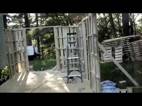 Building a Pallet shed...my way..PT.1