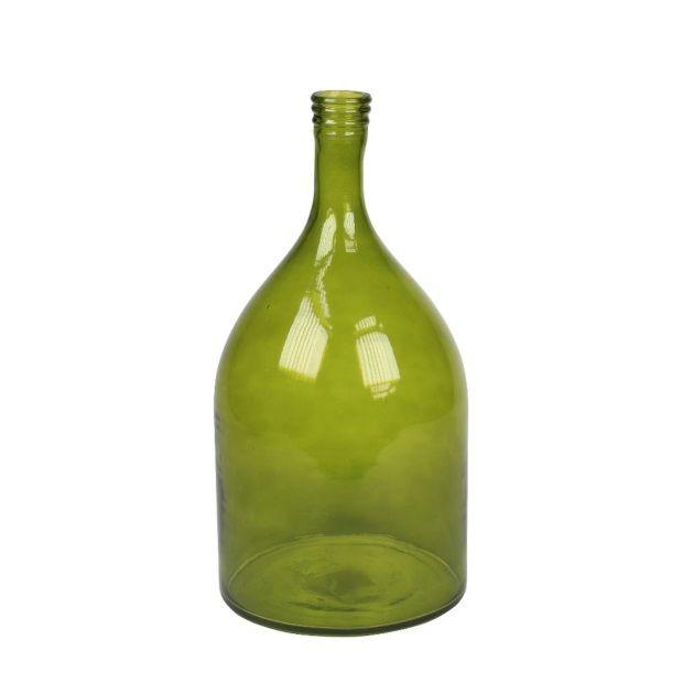 vtwonen Vaas/Fles 40 cm - Groen
