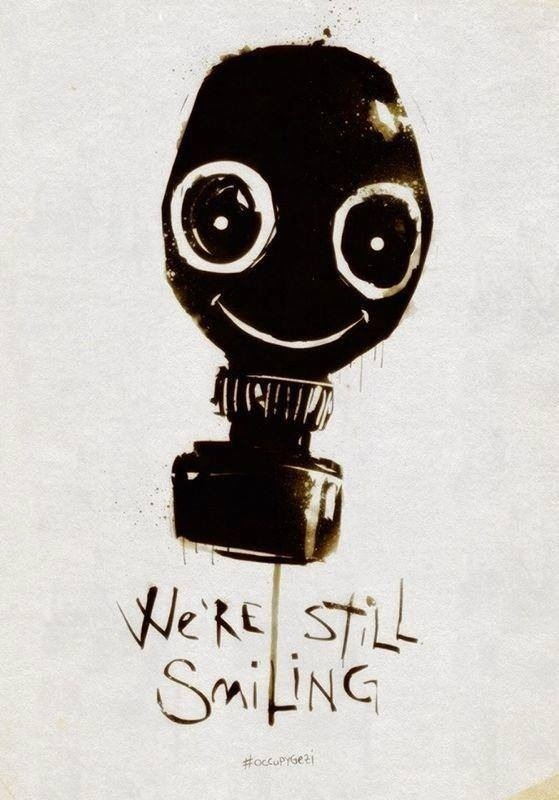 we are still smiling #direngezi #occupygezi