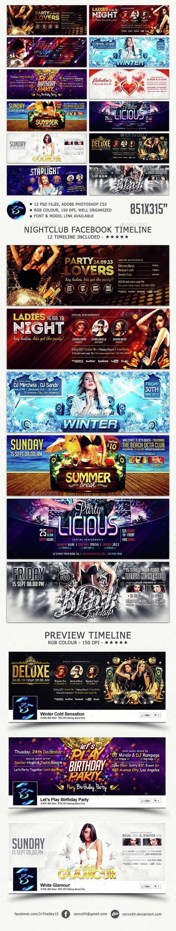 Nightclub FB Timeline Cover
