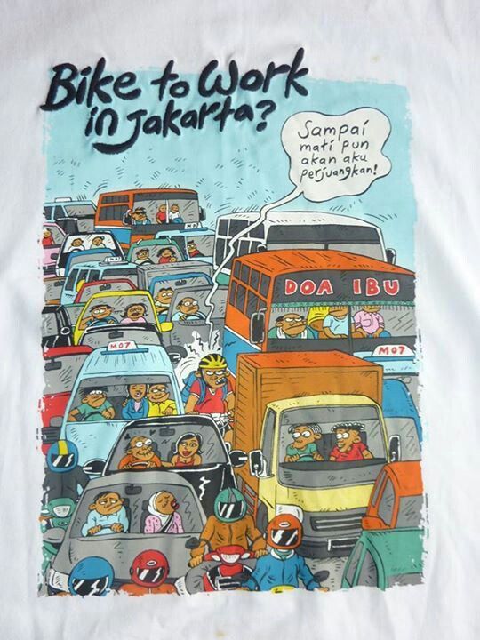 Bike to Work In Jakarta