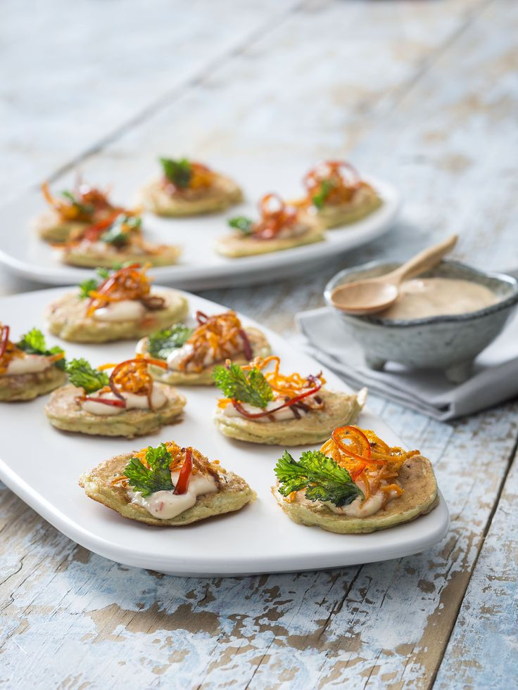 Mussel fritters with chilli mayonnaise | 2017 Thermomix Calendar