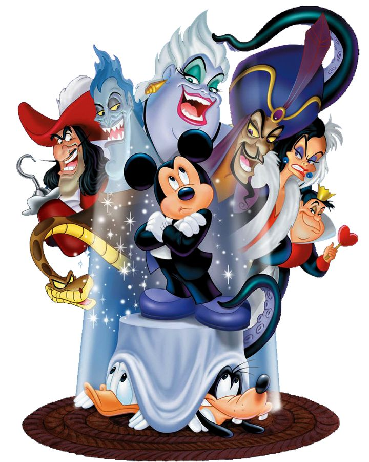 THIS IS NO ORDINARY PICTURE. THIS IS FROM THE HOUSE OF MOUSE SPECIAL, MICKEY'S HOUSE OF VILLAINS. OMIGOOOSH