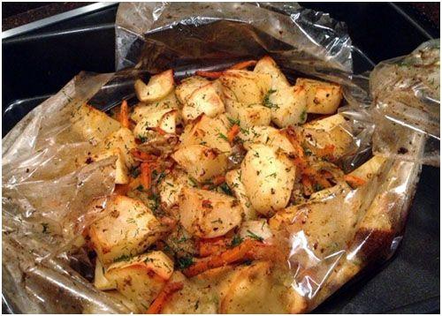 Аппетитная картошечка в рукаве - вкусно и просто!