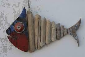 Risultati immagini per creazioni con legni spiaggiati