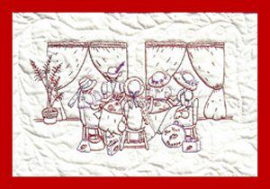 Quilting Bee Redwork Patterns : 1000+ images about Redwork Embroidery on Pinterest Hand embroidery, Quilt and Embroidered quilts