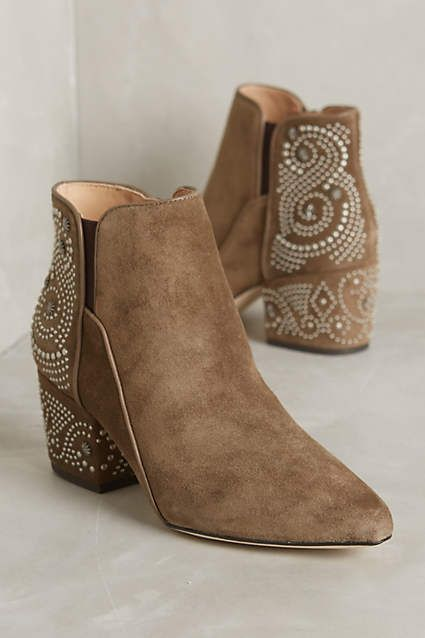 Belle by Sigerson Morrison Cynn Booties - anthropologie.com
