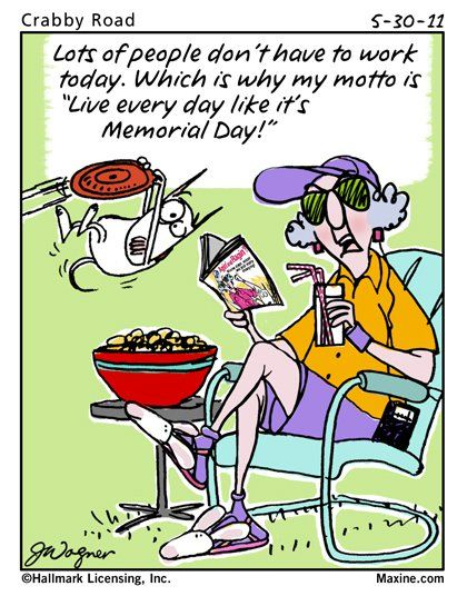 funny memorial day cards