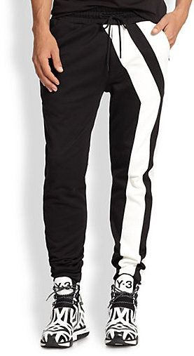 Y-3 Y-Striped Track Pants on shopstyle.com