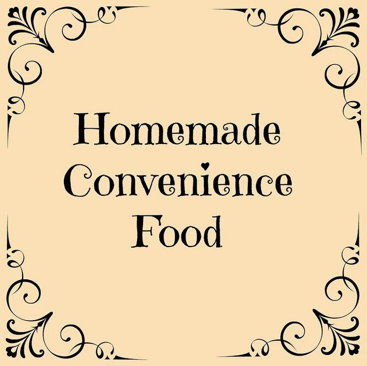 Oak Hill Homestead: Homemade Convenience Food Series