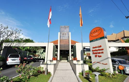 HARRIS Hotel Tuban - Bali: Easily found next to Ngurah Rai International Airport with 66 rooms and suites and delighted pool, make this hotel is perfect for families and business travelers.
