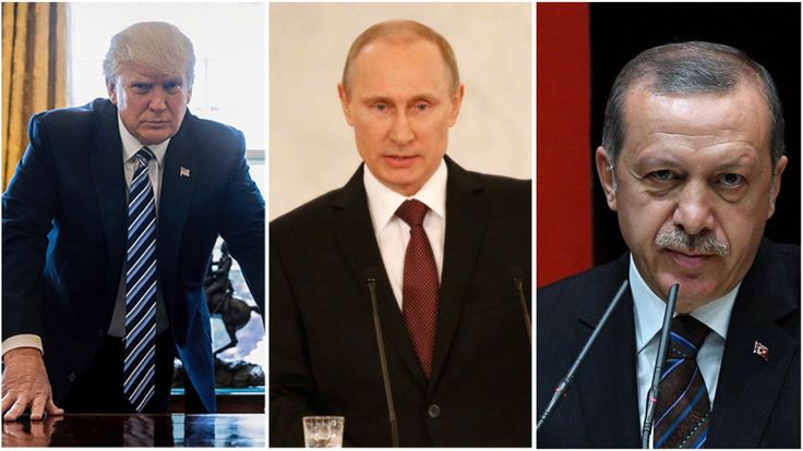 LATEST NEWS - Trump Putin and Erdogan agree on De-escalation zones in Syria - Moscow and Ankara back to normal partnership -https://www.facebook.com/TBUNEWS/videos/1287437774638692/