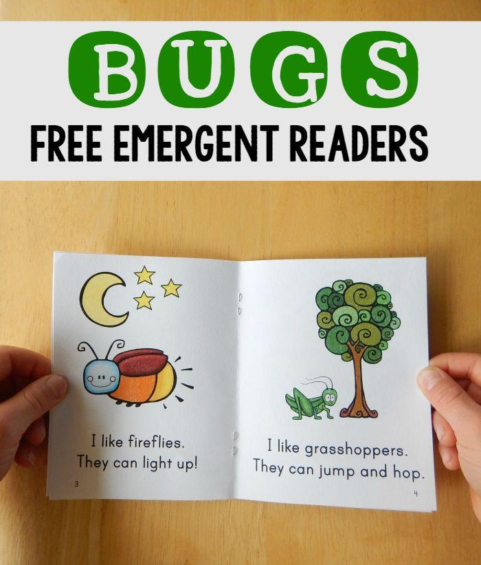 Bug books for beginning readers