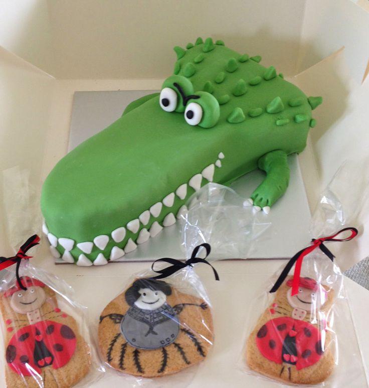 Roald Dahl- crocodile cake