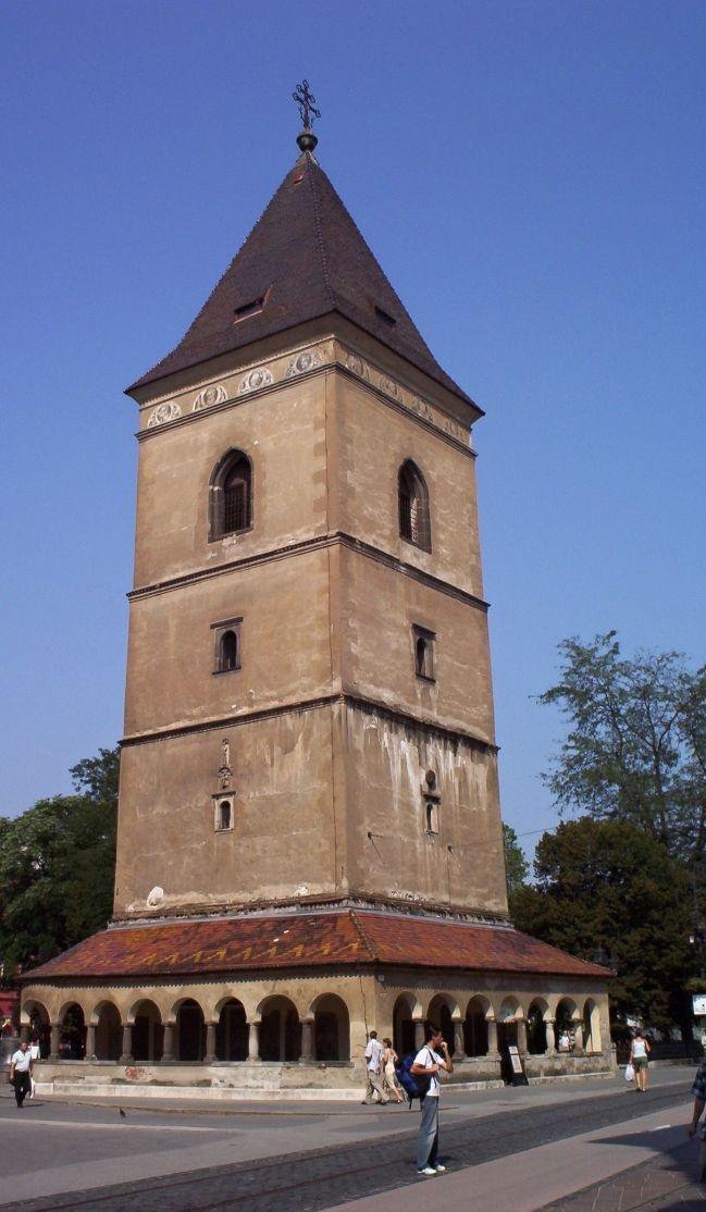 Slovakia, Košice - Urbanova tower
