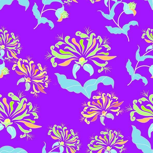 main floral motif repetition