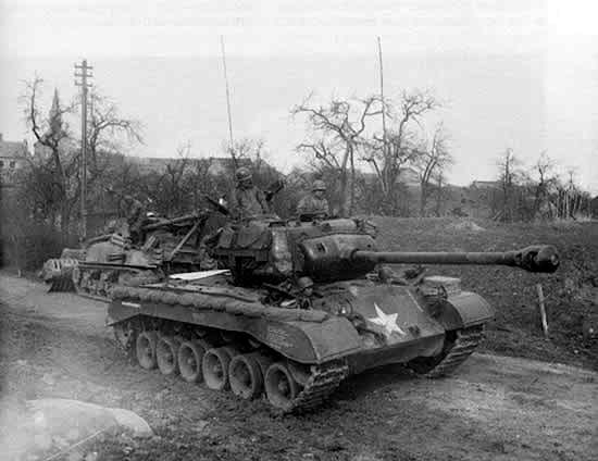U.S. Heavy tank, M-26 Pershing.