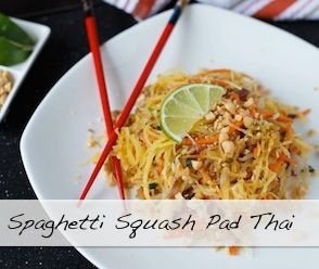 Spaghetti Squash Pad Thai   Shared Appetite-- tasted great but looked gross
