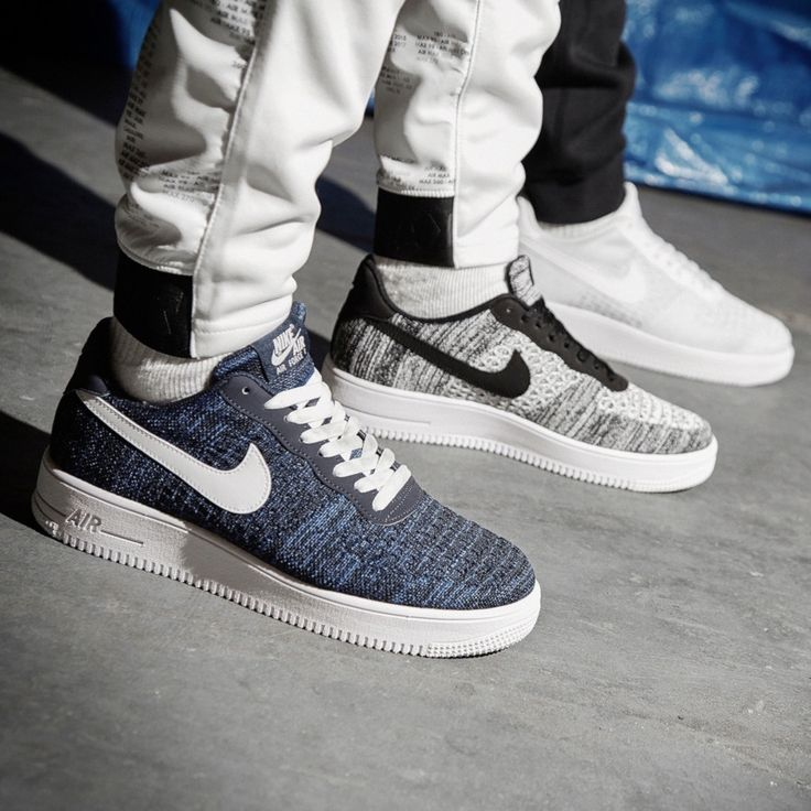 Nike Air Force 1 Flyknit 2.0 BlackWhite Anthracite CI0051 001