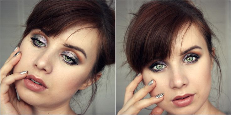 nabla eyeshadows grey makeup