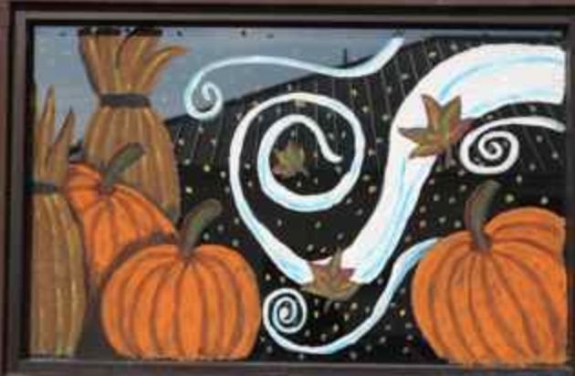 41 best Window paintings images on Pinterest | Murals ...