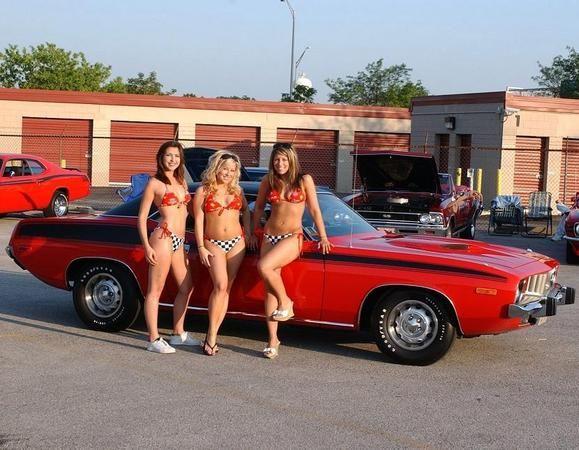 Mopar Muscle Girls Jendel Hot Rod S Garage The Mopar