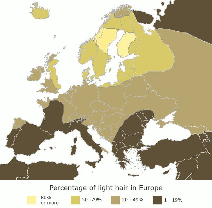 Blue Eyed/Blonde Haired Map of Europe AND JUST HAPPENED THAT WAY?
