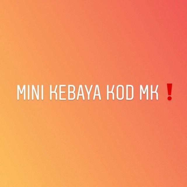 Mini Kebaya Kod Mk Jenis Kain Kain Duyung