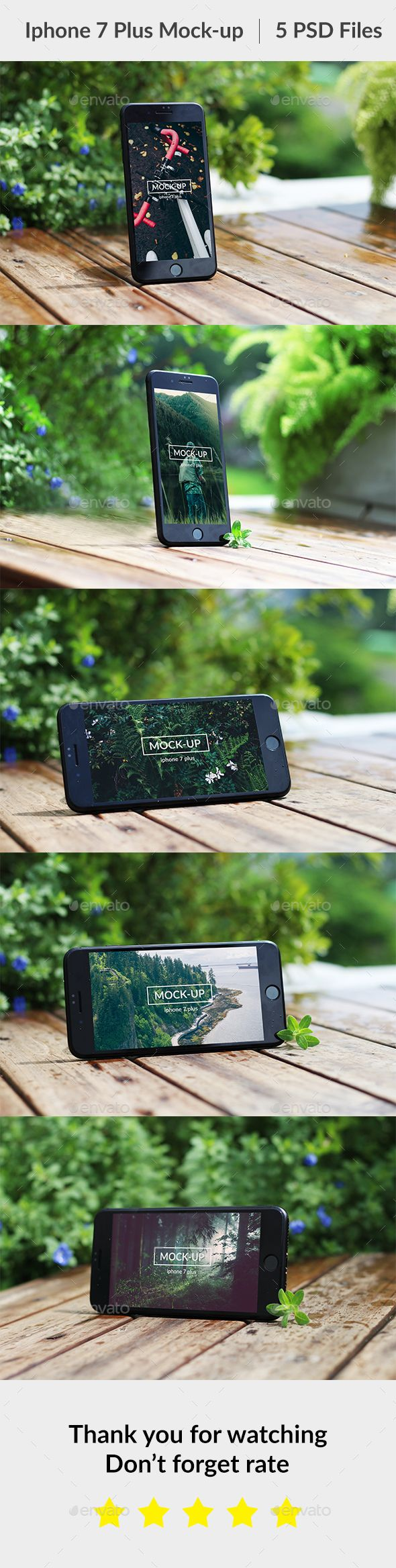 Phone 7 Plus #Mock-up - #Mobile Displays Download here: https://graphicriver.net/item/phone-7-plus-mockup/20331910?ref=alena994